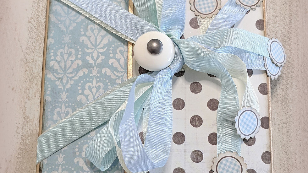 Swaddle Baby Boy Folio Photo Album