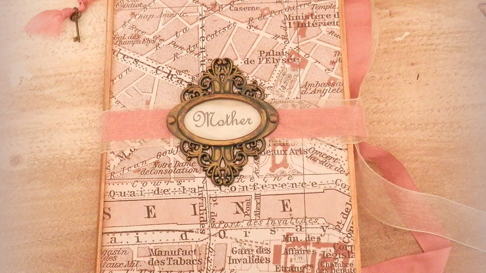 Parisian Treasure 5x7 Mother's Day Album Card