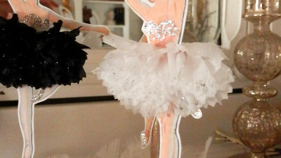 Swan Lake Ballerina Toppers