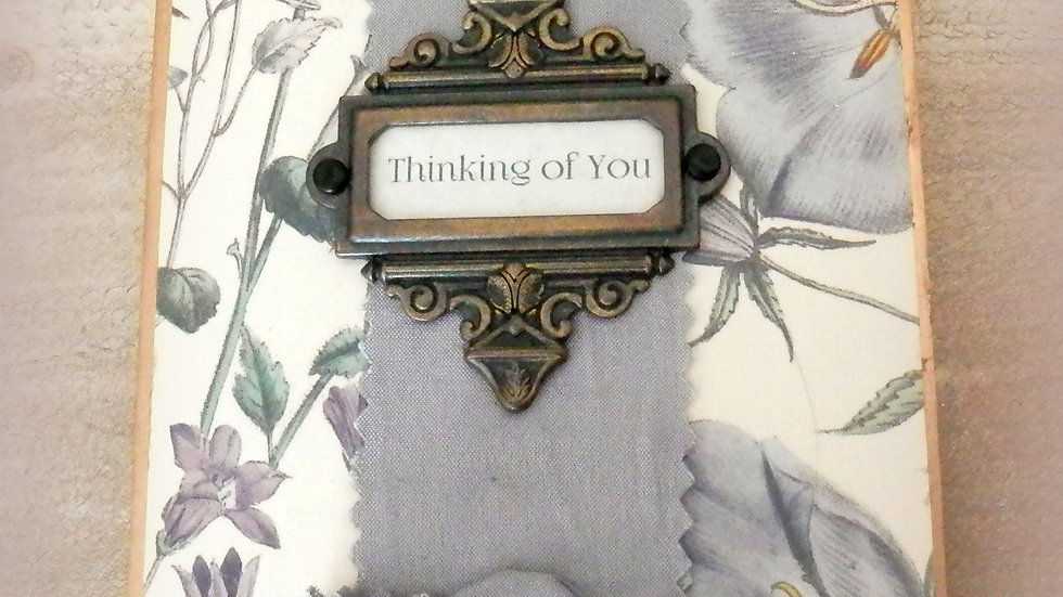 Thinking of You 4x6 Album Card