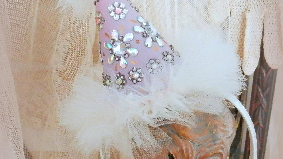 Bijoux Party Hat Headband in Lavender