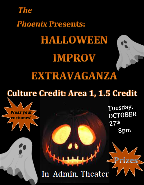 Halloween Improv Extravaganza Event!!!
