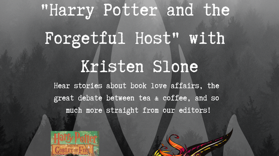 """Podcast: """"Harry Potter and the Forgetful Host"""" with Kristen Slone"""
