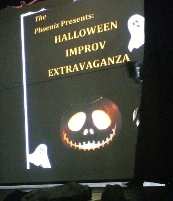 Halloween Improv Extravaganza: Review