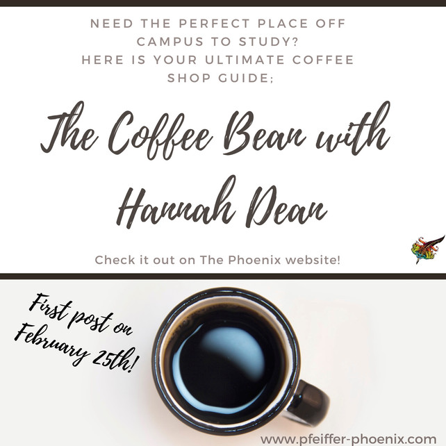 The Coffee Bean with Hannah Dean: Coming February 25th!
