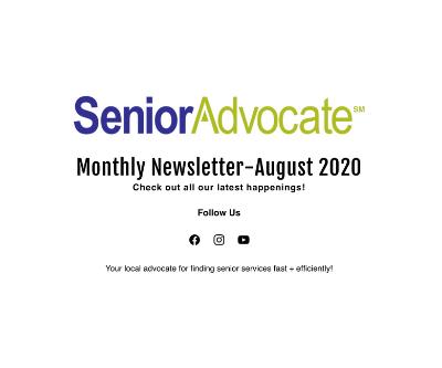 SA August Newsletter