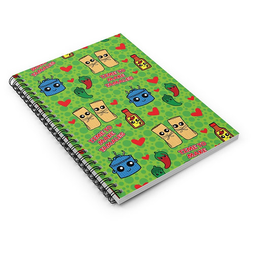 Time to Make the Tamales Spiral Notebook - Ruled Line