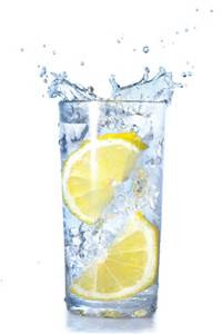 Water, Lemon, and Lemonade