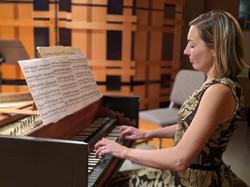 Recording of Bach Concerto