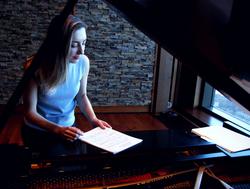 Anna Kislitsyna's solo CD recording at Shalin Liu Performance Center with PARMA Recordings