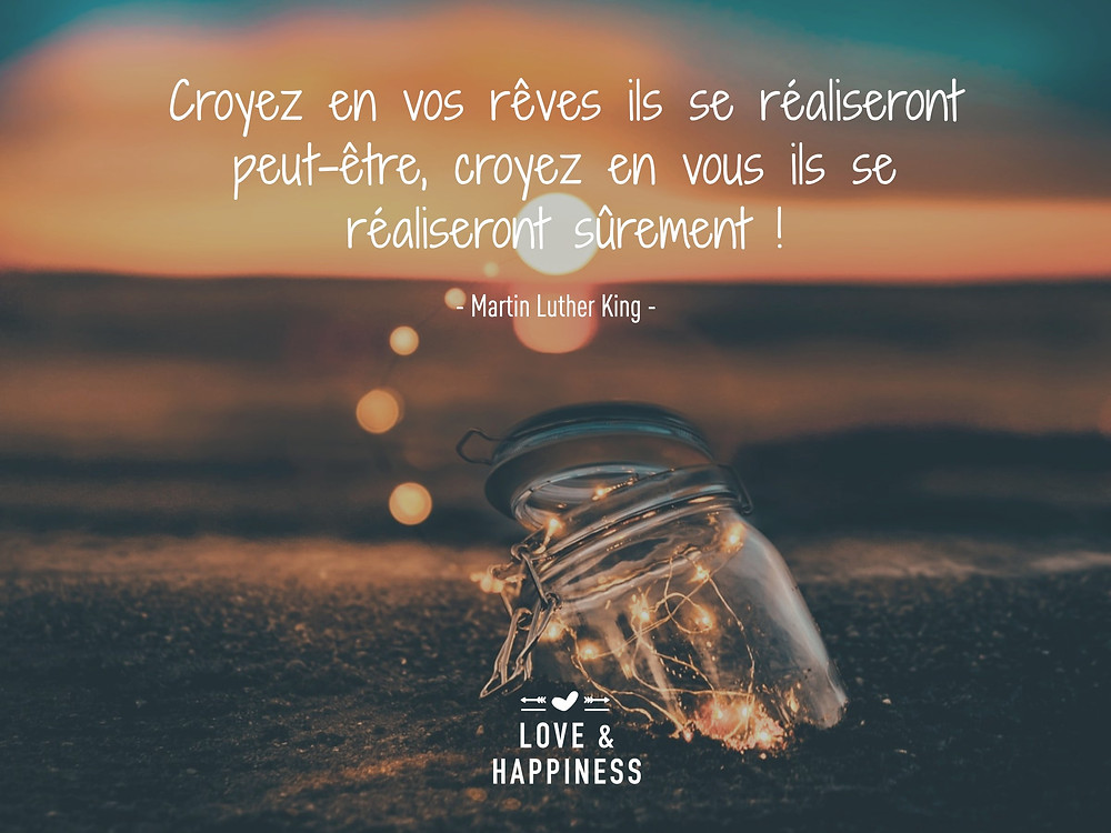 Citation - confiance en soi - Love & Happiness