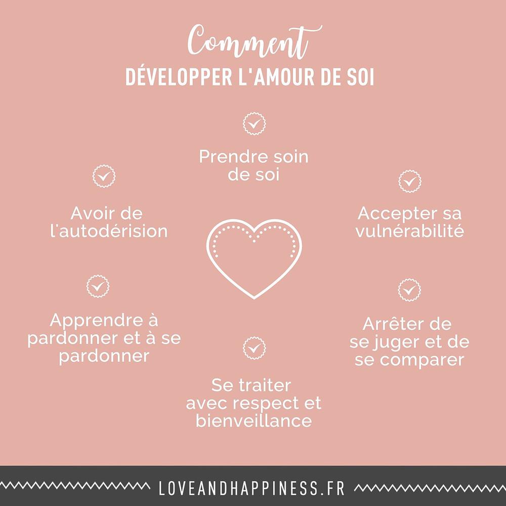 Comment développer l'amour de soi - 6 façons