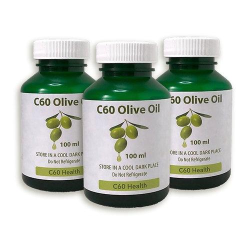 C60 Olive Oil, 3-pack
