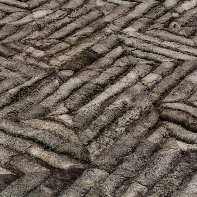 Maze  mink sheepskin