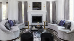 Ace Black White Formal Modern Living room