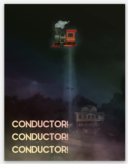 CONDUCTOR X 3 Holographic sticker