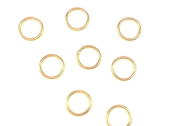 Mini Hoop Dangle (Gold)