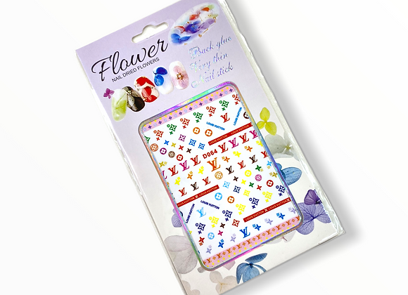 Mixed LV Stickers- D064