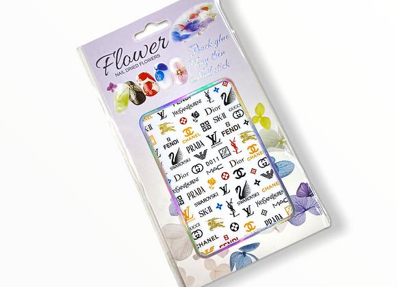 Worldwide Designer Stickers- D011
