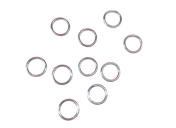 Mini Hoop Dangle (Silver)