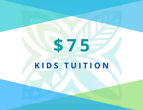 KIDS Tuition 2021