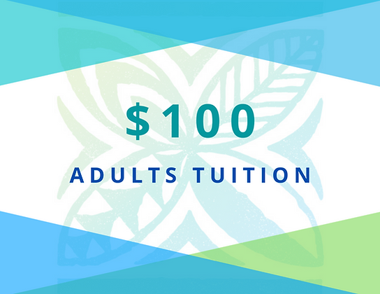ADULTS Tuition 2021