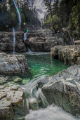 Lower Myra Falls, BC.