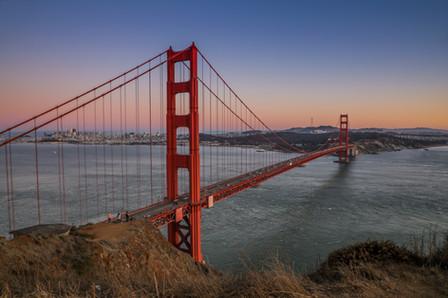 Golden Gate Bridge. CA.