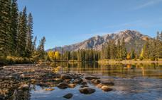 Bow River, Banff National Park.