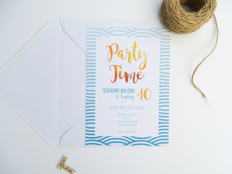 Three Stunning New Birthday Party Invitations Added