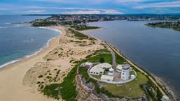 Nobbys Lighthouse. Newcastle, NSW.