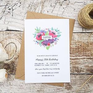 bespoke invites, bespoke birthday party invitations, bespoke birthday invitations, personalised birthday party invitations
