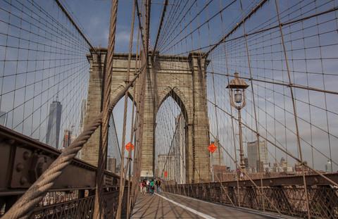 Brooklyn Bridge, NY.