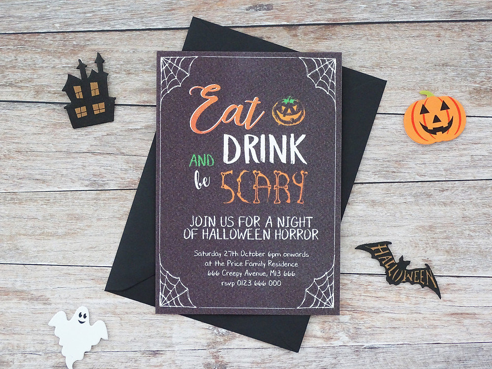 halloween. halloween party, halloween party invites, halloween party invitations, halloween party decor, party invites, personalised halloween party invites
