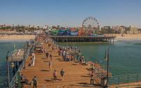 Santa Monica Pier. CA.