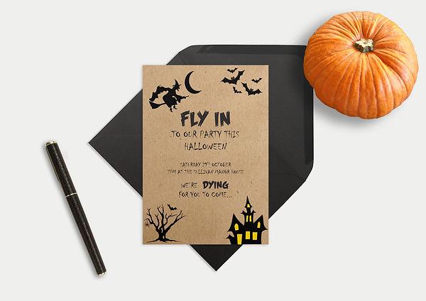 bespoke invites, bespoke halloween invitations, bespoke halloween invites, halloween invitations merseyside uk