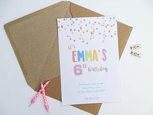 bespoke invites, bespoke birthday party invitations, pesonalised birthday party invitations, birthday invitations, design your own