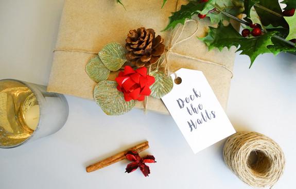Festive Christmas Gift Tags