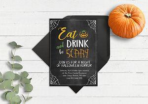 bespoke invites, halloween invitations, halloween party invitations, bespoke halloween party invitations, personalised hallweenparty invitations