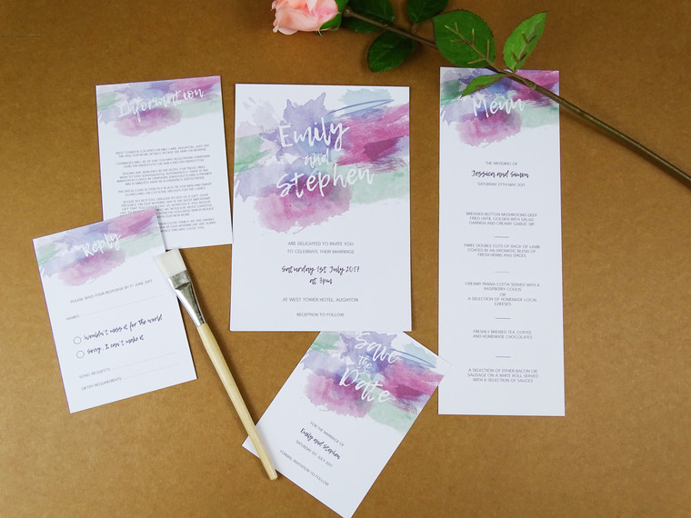 Two new gorgeous wedding invitation designs added!