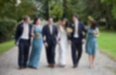 Bride, groom and guests.jpg