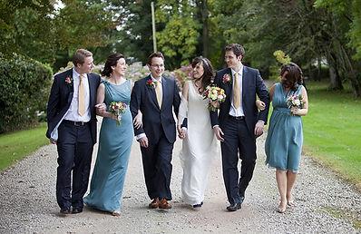 Bride, groom and guests.jpg