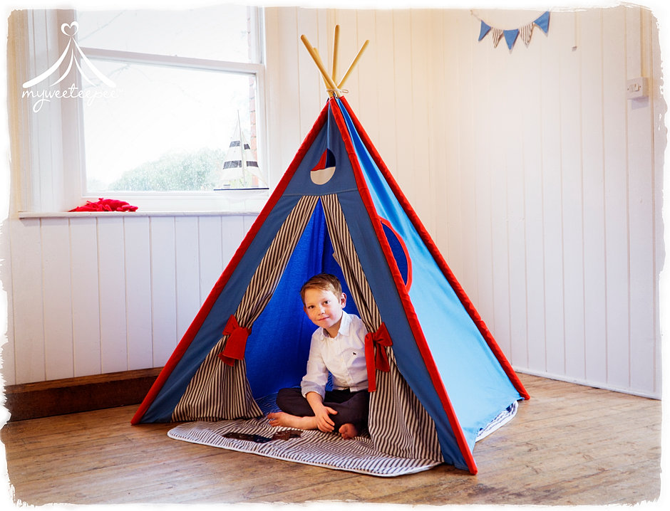 Sailor Teepee  sc 1 th 196 & Myweeteepee® - Award Winning Teepee Play Tents For Children | UK