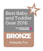 Myweetepee Bronze Roleplay Toy Award
