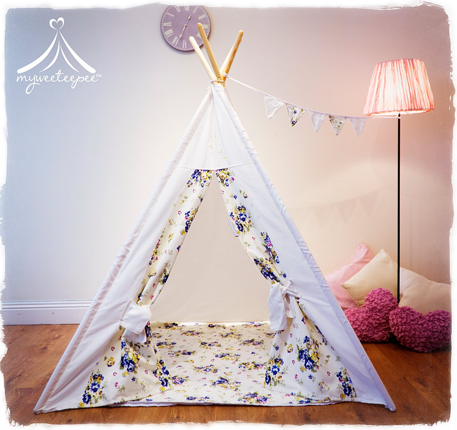 Isabella Flower Fairy Teepee & Myweeteepee® - Award Winning Teepee Play Tents For Children | UK