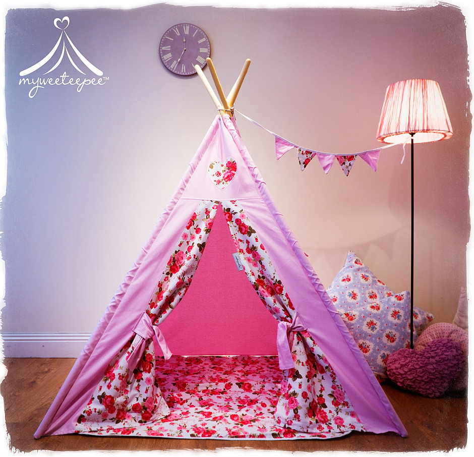 Evie Rose Teepee & Myweeteepee® - Award Winning Teepee Play Tents For Children | UK