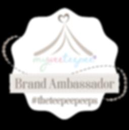 Myweeteepee Brand Ambassador