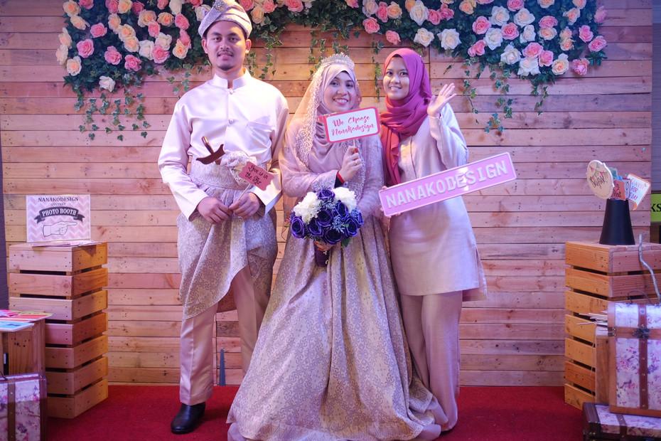 NANAKO PHOTOBOOTH : NABILAH & HAMDAN WEDDING