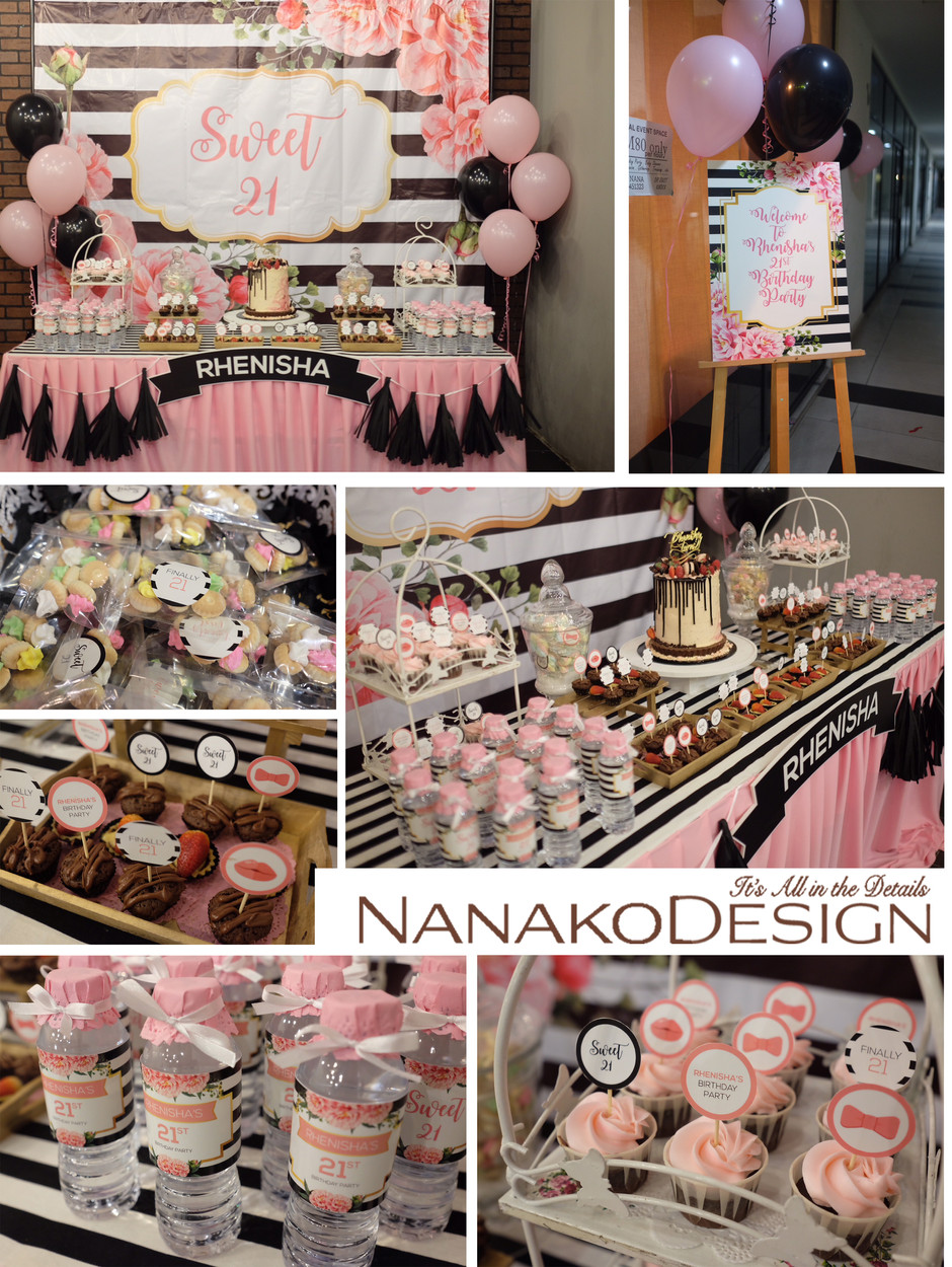 NANAKODESIGN : BIRTHDAY PARTY RHENISHA