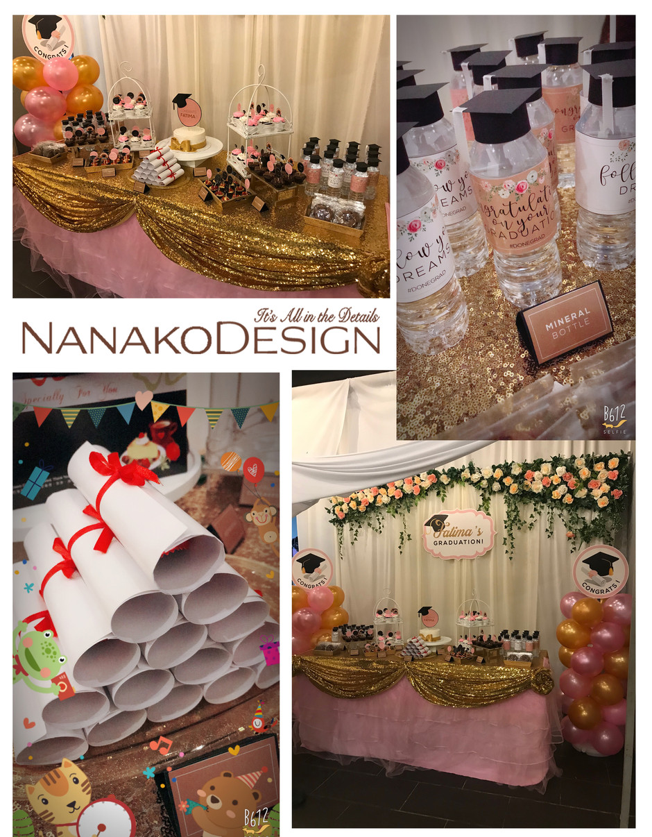 NANAKODESIGN : GRADUATION DINNER